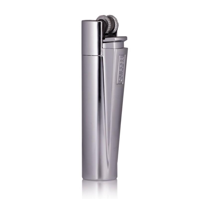 Clipper - Encendedor Metálico Silver