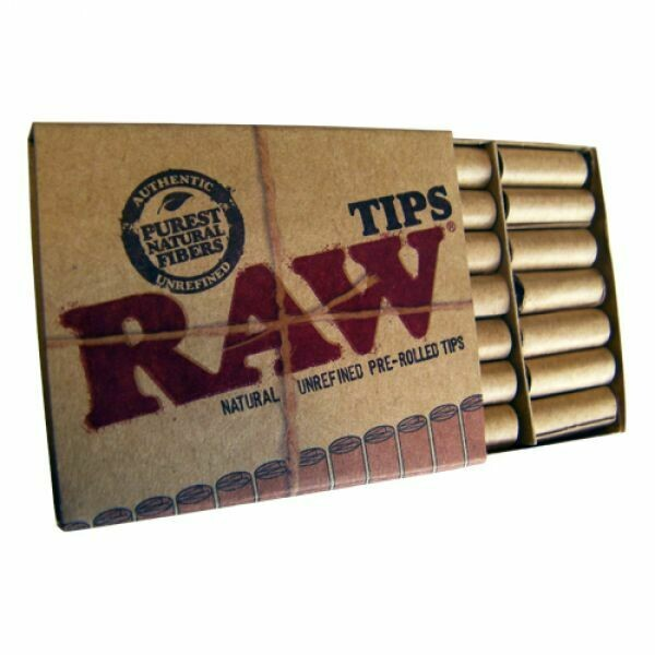 Raw - Filter Tips Prerolled