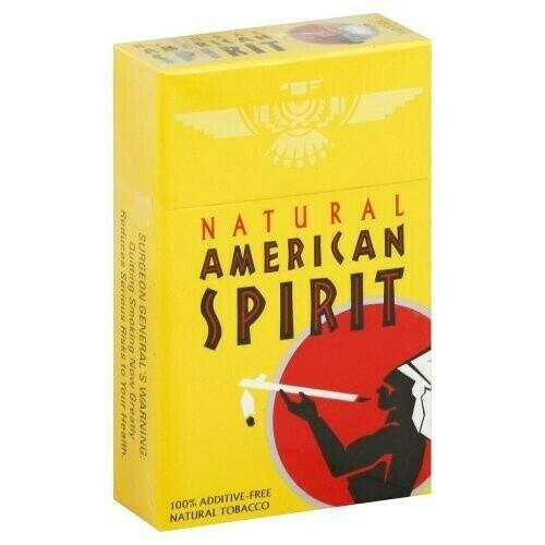 Natural American Spirit - Cajetilla