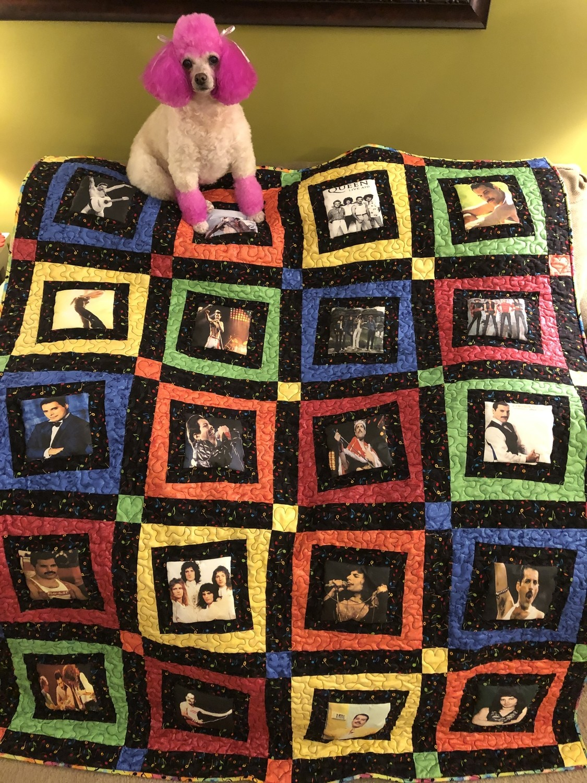 Queen & Freddie Mercury Fan Photo Quilt #3