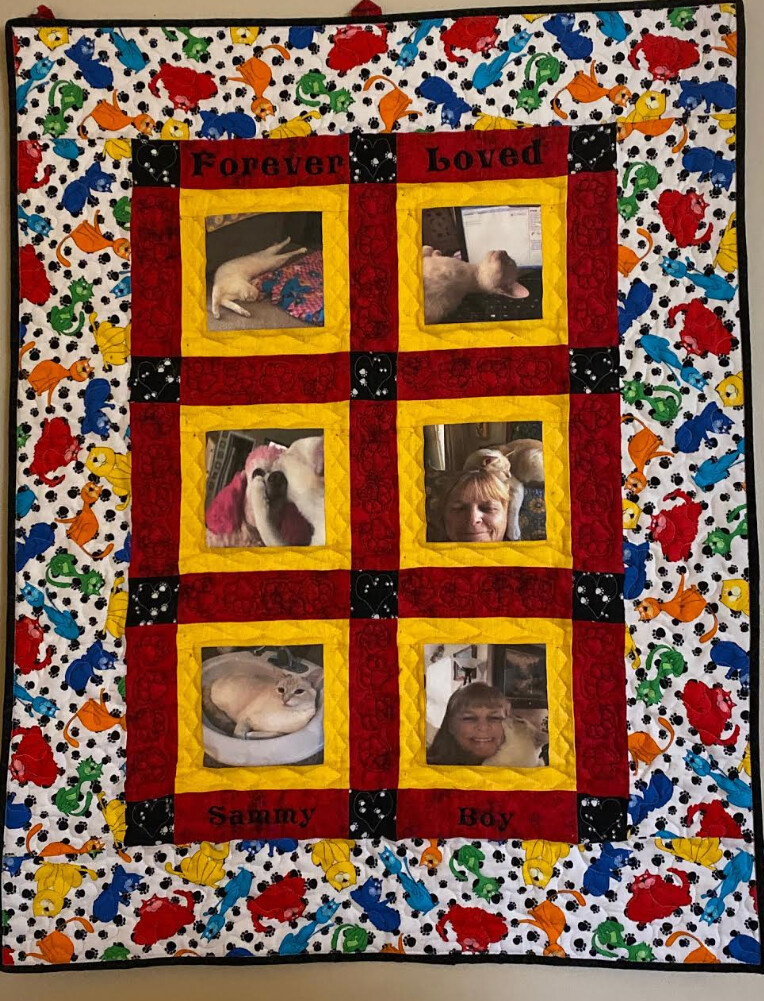 Wall Photo Quilt