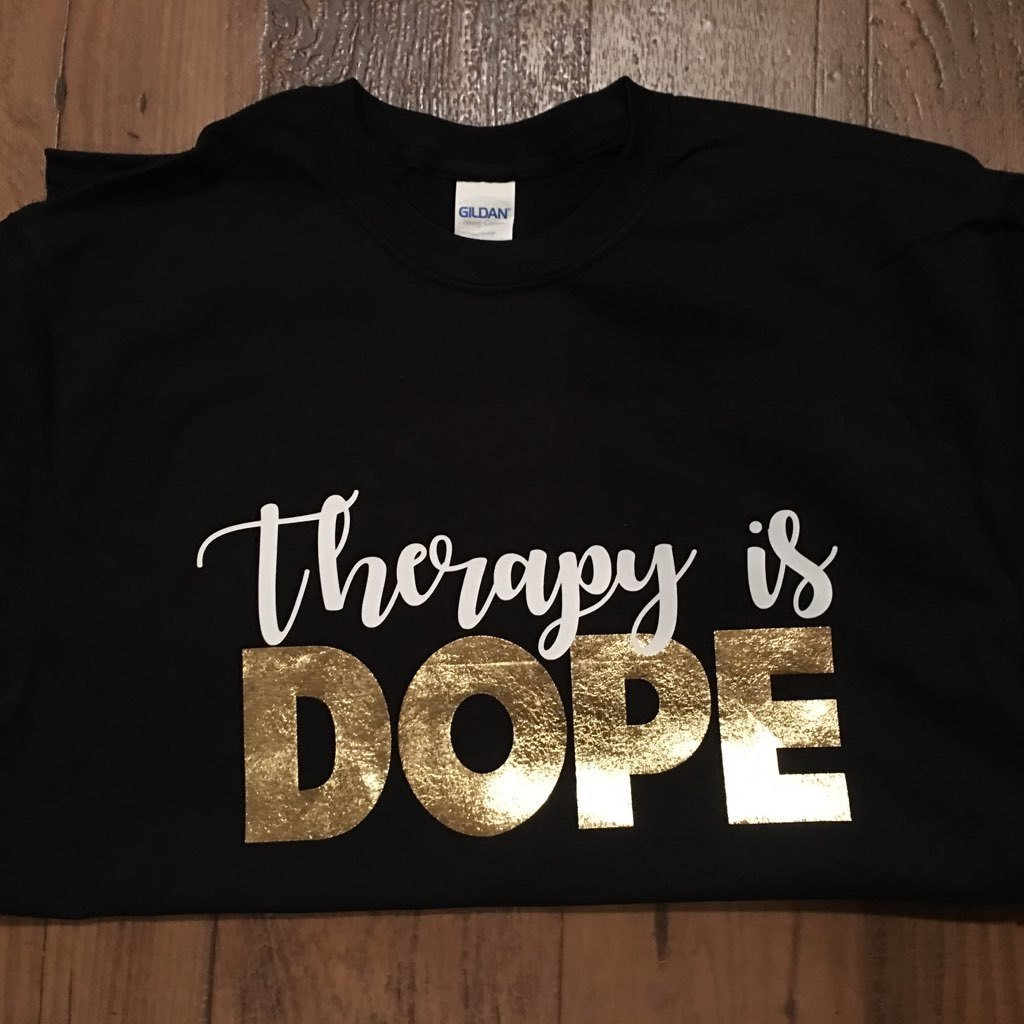 Therapy Is Dope T-Shirt