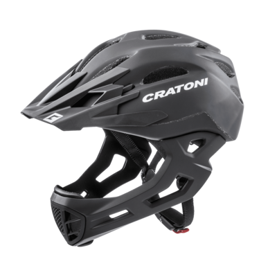 Cratoni C-maniac Black Matt   ML 54-58cm