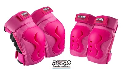 DLR Knee & Elbow Pads Set Pink