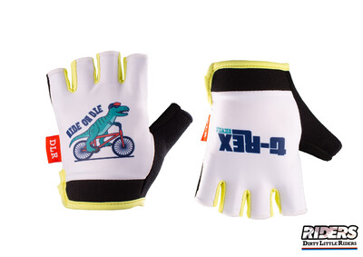 DLR Half-Finger Gloves - Dino