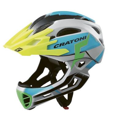Cratoni C-maniac Pro Grey Blue Matt  ML 54-58cm