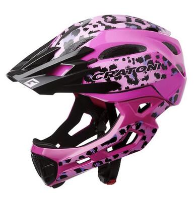Cratoni C-maniac Pro  Leo Pink Glossy ML 54-58cm