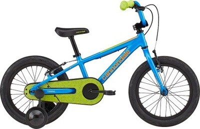 "Cannondale 16"" Kid Trail   Blue Green"