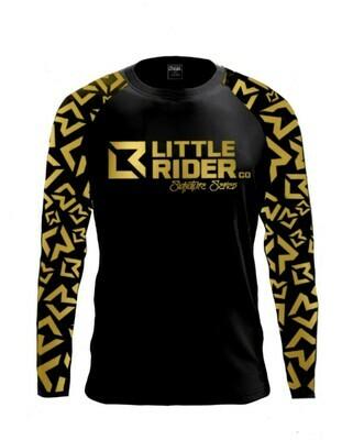 Little Rider Co Signature Series Jersey - BLACK & GOLD