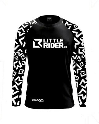 Little Rider Co Balance Series Jersey - 'DARTH BLACK'