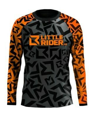 Little Rider Co 'Classic' Jersey - ORANGE BLAST