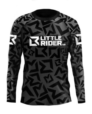 Little Rider Co 'Classic' Jersey -STEALTH