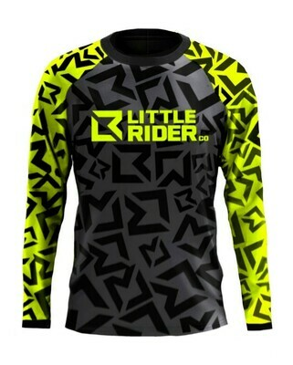 Little Rider Co 'Classic' Jersey -LIMEY