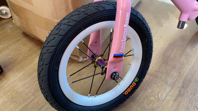DLR Balance Bike with Pneumatic Wheel Set