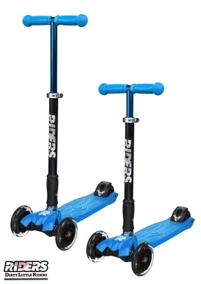 DLR Folding Scooter  Blue