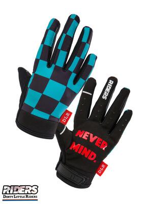 "DLR Smart-touch Gloves  ""Green Checker"""