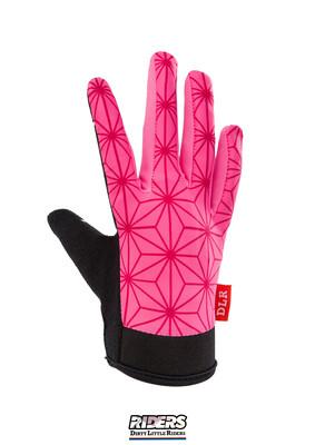 """DLR Smart-touch Gloves  """"Pink Hemp"""""""