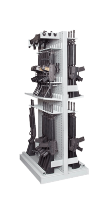 Double-Sided Expandable Weapon Rack
