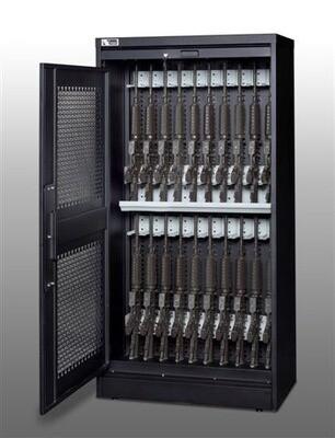 Weapon Storage Cabinets  خزائن ذات بابين سحاب وجانبى لتخزين الأسلحة