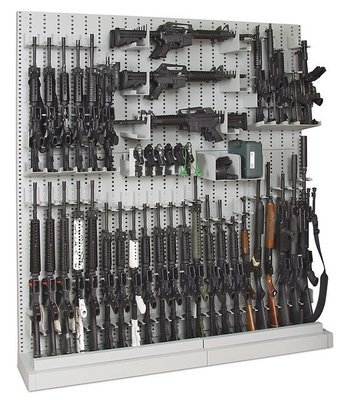 Single-Sided Expandable Weapon Rack