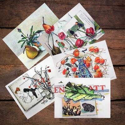 Набор из 5 открыток
