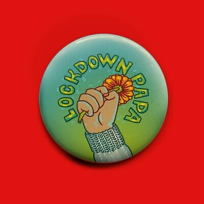 Lockdown Papa Button 50mm