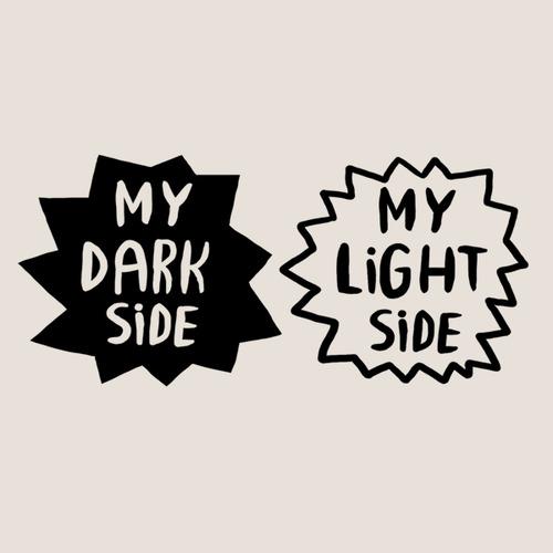 My dark side tattoo (2 Paar - 4 Tattoos)