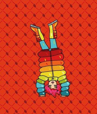 Masha - Paper doll dress up kit