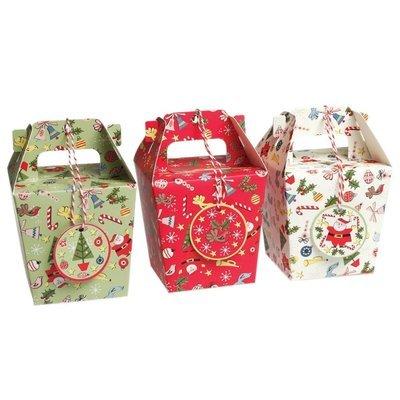 3 Panettone Christmas Gift Boxes