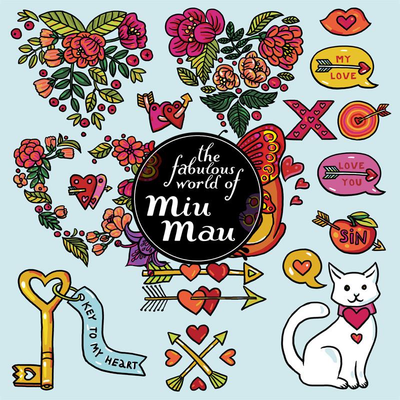 Download Valentine Clipart Set