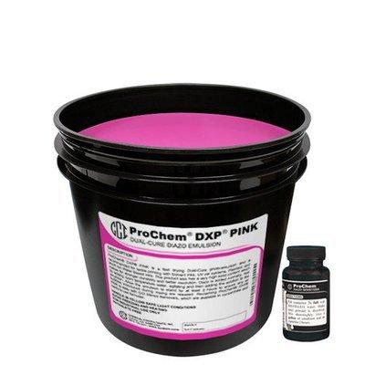 DXP Pink Dual Cure Emulsion