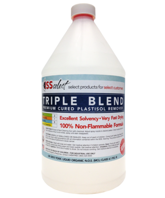 ISS Triple Blend Premium Cured Plastisol Remover