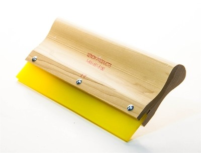 Wooden handle squeegee, Screen Printing