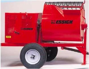 Multiquip Essick EM120SMH11 Steel Drum Mortar Mixer - Honda GX340, 12 CF