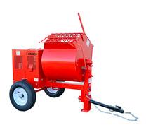 Multiquip Essick EM90SH8 Steel Drum Mortar Mixer - Honda GX240, 9 CF
