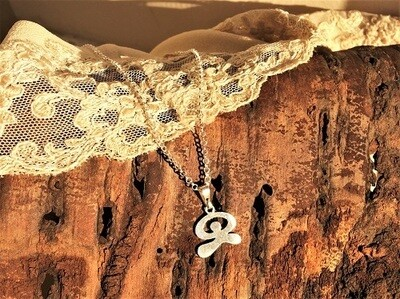 Indalo necklace~  smooth, silver