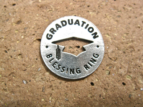 Blessing ring for Graduation