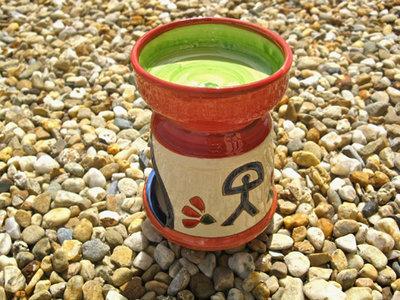 Tea light oil burner ~ Indalo