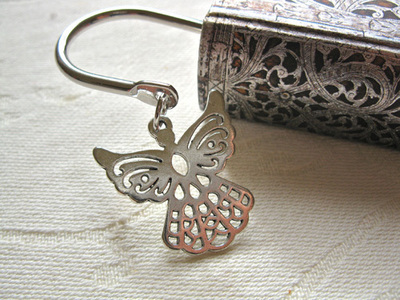 Guardian angel bookmark ~ squiggly