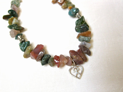 Lucky Indalo + Jade necklace for wellness