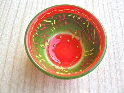 Spanish ceramic bowl ~ honeysuckle med