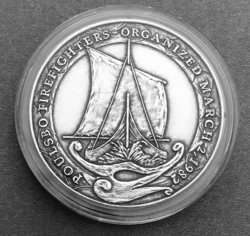 2018 Poulsbo Coin - Silver (Antiqued)