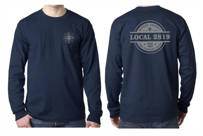 Long Sleeve Logo T-Shirt - 6.1 oz. 100% Preshrunk Cotton