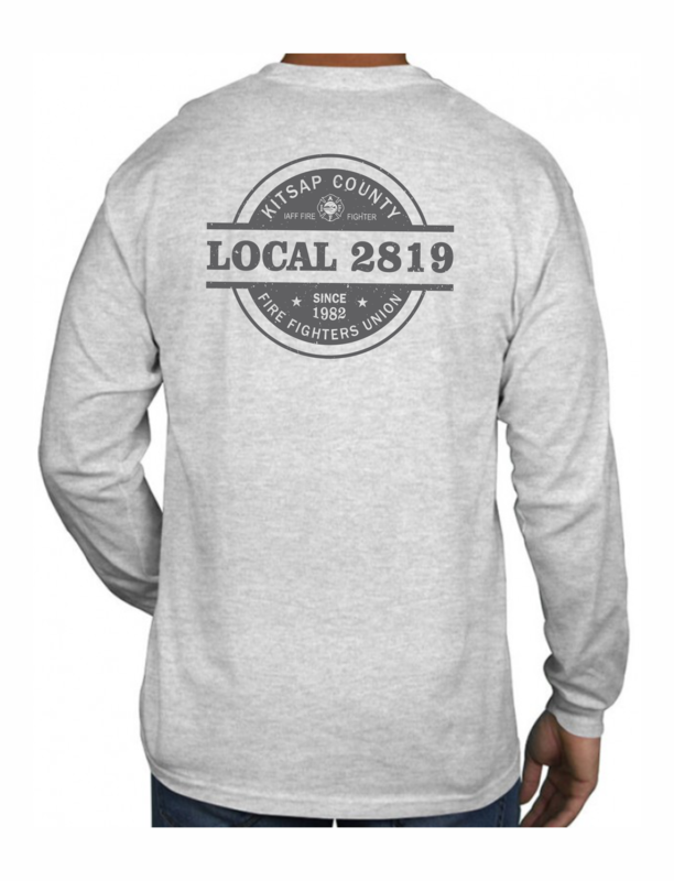 Long Sleeve Logo T-Shirt - 6.1 oz. 100% Preshrunk Cotton (Pre-Order)