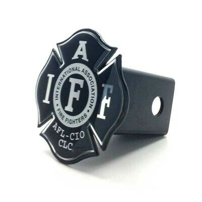 Steel Hitch Cover - Black & Chrome