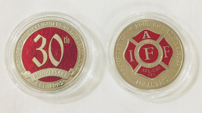 30th Anniversary Coin