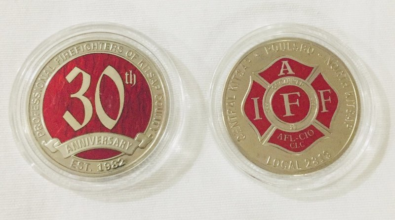30th Anniversary Challenge Coin