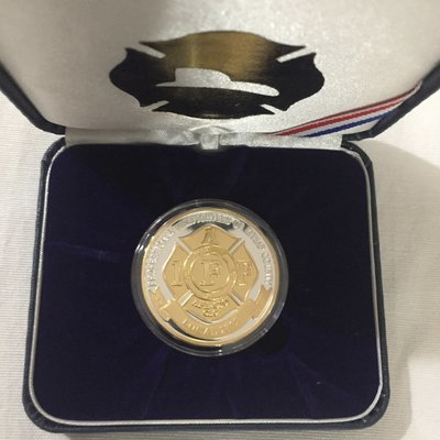 Gold/Silver Local 2819 Challenge Coin