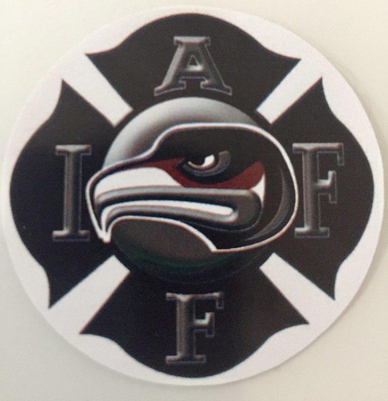 Helmet Sticker IAFF 2819 Logo