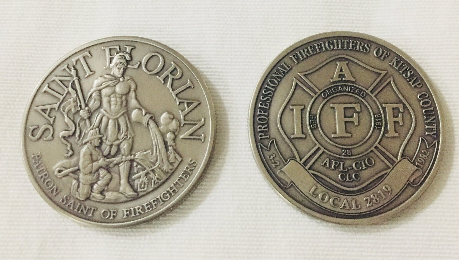 Local 2819 Nickel Coin